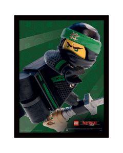 Картина Lego Ninjago movie Lloyd в остъклена рамка