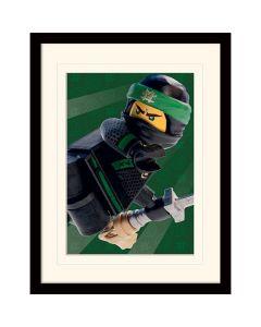 Преспапие Lego Ninjago movie Lloyd в остъклена рамка