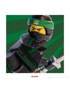 Арт принт Lego Ninjago Lloyd