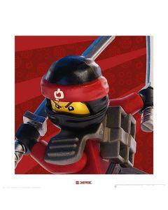 Арт принт Lego Ninjago Kai