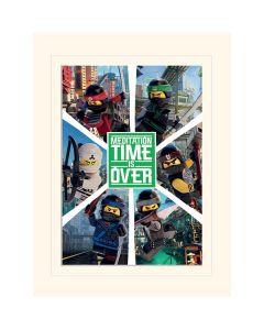 LEGO NINJAGO MOVIE шест нинджи преспапие