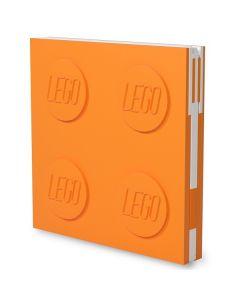 LEGO заключваща се тетрадка с гел химикал, оранжева