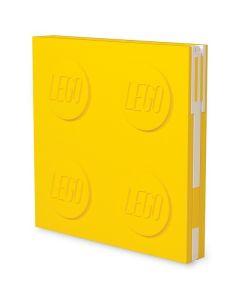 LEGO заключваща се тетрадка с гел химикал, жълта