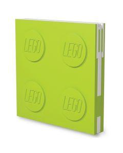 LEGO заключваща се тетрадка с гел химикал, зелена