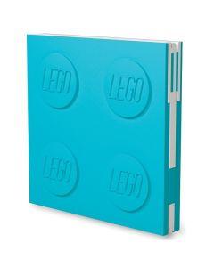 LEGO заключваща се тетрадка с гел химикал, синя