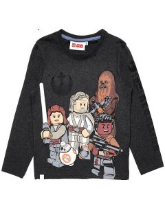 Блуза LEGO Star Wars gray melange