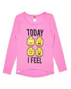 Блуза LEGO Emotes pink