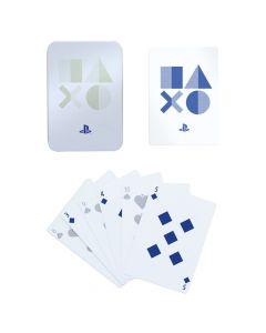 Карти за игра Playstation PS5 в метална кутия.