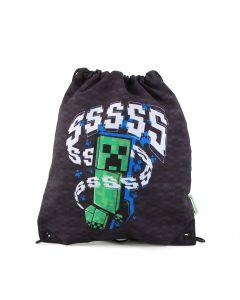 Ученическа спортна торба MINECRFT Creeper