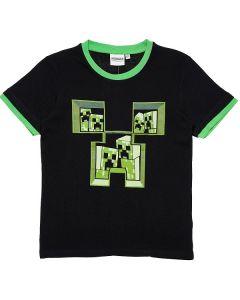 Тениска Minecraft Classic черна