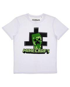 Тениска Minecraft Classic бяла