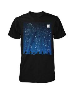Тениска Minecraft светеща в тъмното размер 170