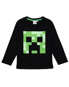 Блуза Minecraft Classic черна