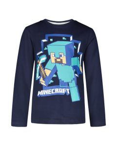 Блуза Minecraft Стив с кирка