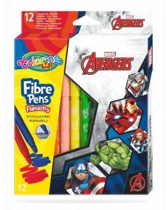 Colorino Marvel Avengers Флумастери 12 цвята