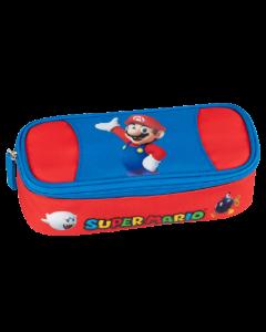 Ученически несесер овален Super Mario 2021