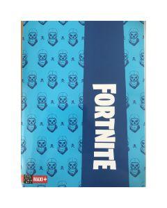 Тетрадка Fortnite A4 синя с редове