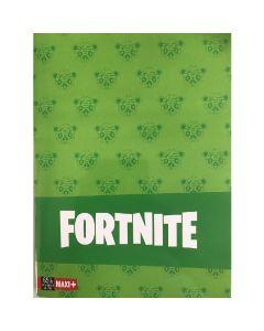 Тетрадка Fortnite A4 зелена с редове