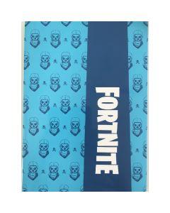 Тетрадка Fortnite A4 синя с големи квадрати