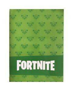 Тетрадка Fortnite A4 зелена с големи квадрати