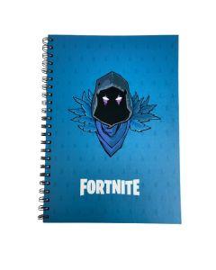 Тетрадка Fortnite Raven синя, А4