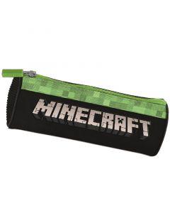 Ученически несесер цилиндър Minecraft pixel