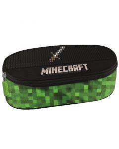 Ученически несесер овален Minecraft pixel
