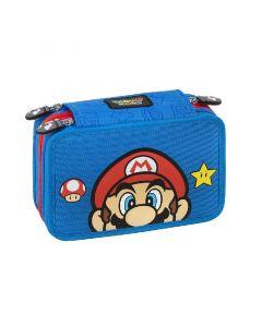 Ученически несесер Super Mario със съдържание