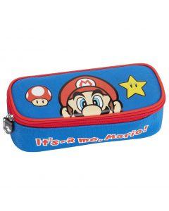 Ученически несесер овален Super Mario