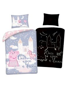 Детски спален комплект Peppa Pig Once Upon a Dream