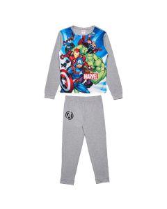 Пижама Marvel сива в луксозна кутия