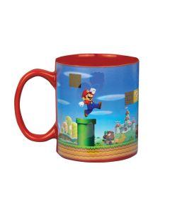 Термочувствителна керамична чаша Super Mario.