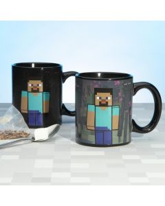 Чаша Minecraft Enderman термо чувствителна