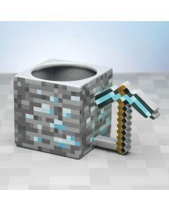 Нестандартна керамична чаша Minecraft Diamond pickaxe.
