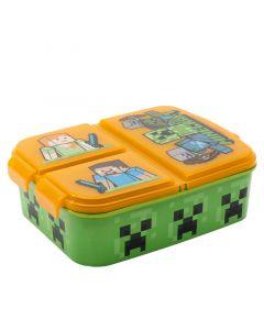 Кутия за сандвичи Minecraft с отделения