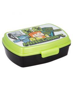 Кутия за сандвичи Minecraft с черна основа