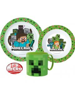 Пластмасов комплект Minecraft Creeper