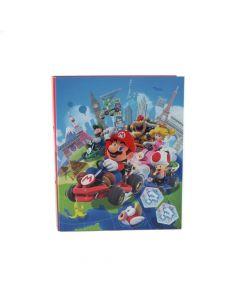 Папка класьор с рингове Super Mario MARIOCART