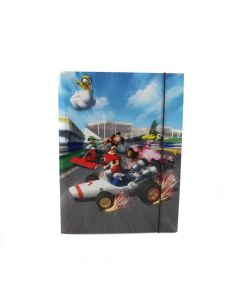 Папка с ластик Super Mario MARIOCART