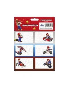 Ученически етикети Super Mario - 18 бр.