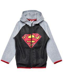 Суитчър с качулка Superman поларен