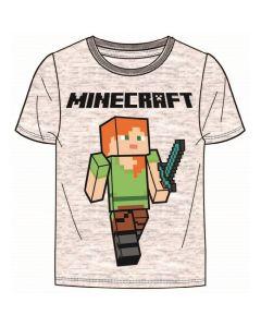 Тениска Minecraft Alex с меч