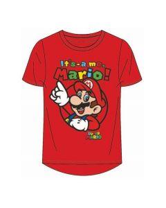 Тениска Super Mario червена