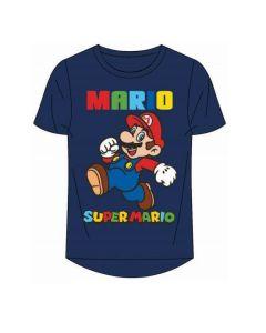 Тениска Super Mario синя