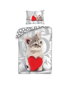 Детски спален комплект LOVE с коте