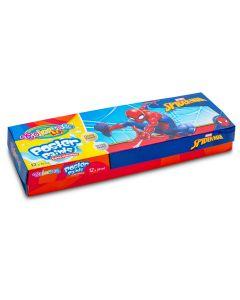 Colorino Marvel Spider-Man Темперни бои 12 цв.+златно и сребърно 20 мл