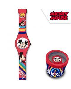 Детски часовник MickeyMouse в метална кутия