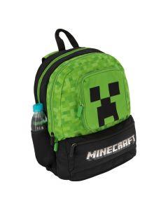 Ученическа раница Minecraft Creeper pixel