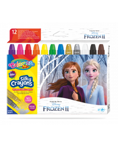 Colorino Disney Frozen II Silky пастели 12 цвята