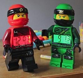 Новите LEGO® NINJAGO будилници Кай и Лойд